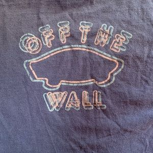 Vans Off the Wall Long Sleeve T Shirt